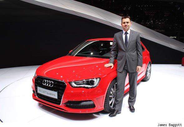 Martin Sander, Audi UK UK director Martin Sander