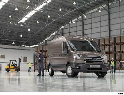 Ford Transit two-tonne