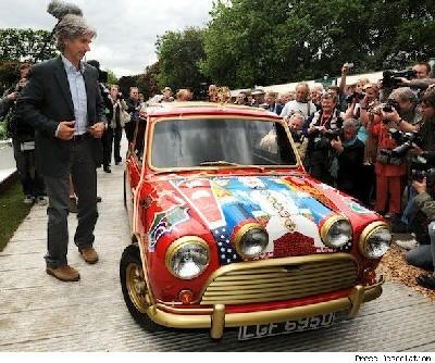George Harrison's Mini