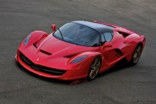 Ferrari F70 rendering front