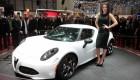 2013 Geneva Motor Show Girls - Alfa Romeo 4C