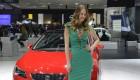 2013 Geneva Motor Show Girls - Seat Leon SC
