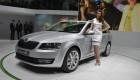 2013 Geneva Motor Show Girls -Skoda Octavia Combi